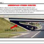 UNDERPASS STORM SHELTER
