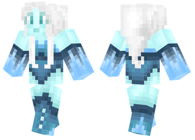 List Of Synonyms And Antonyms Of The Word Ice Girl Minecraft Skin
