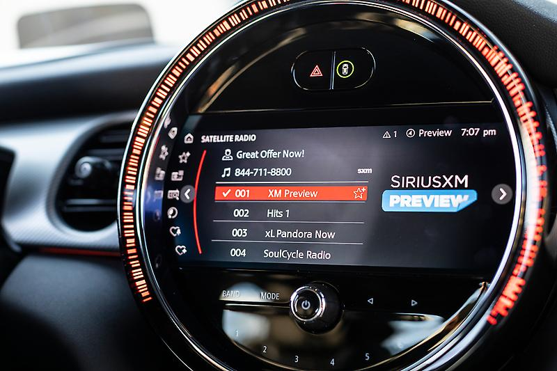 MINI USA MAKES SIRIUSXM STANDARD FEATURE ON<br /> FULL 2022 MODEL YEAR LINEUP