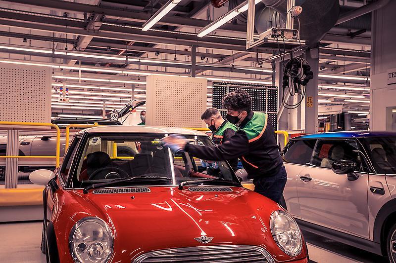 MINI celebrates production milestone - 20 years of the modern MINI.<br />