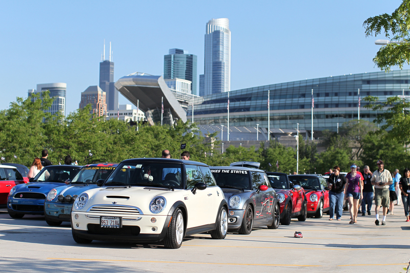 Rise and Shine at Soldier Field in Chicago<br />