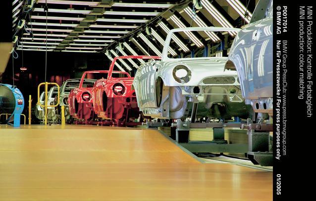 MINI production: colour matching (01/2005)