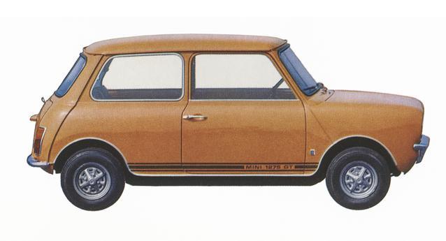 Classic MINI 1275 GT