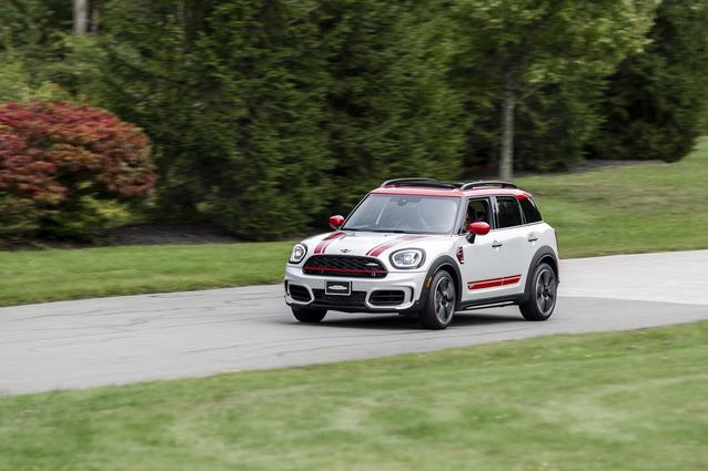MINI Countryman featured at Media Track Event hosted by MINI USA at Monticello Motor Club, September 17, 2020