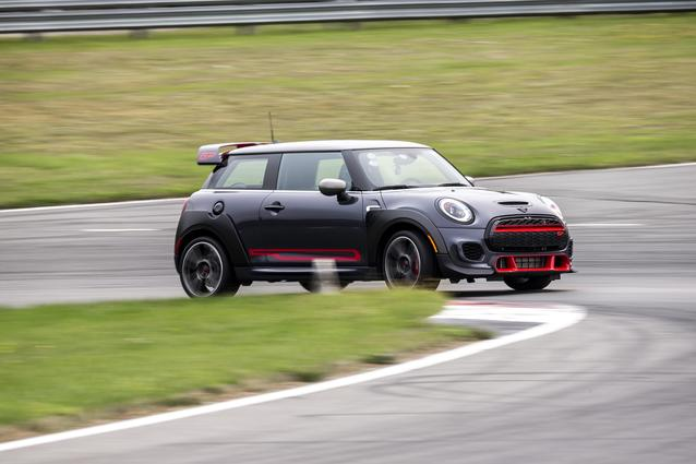 New MINI GP featured at Media Track Event hosted by MINI USA at Monticello Motor Club, September 17, 2020