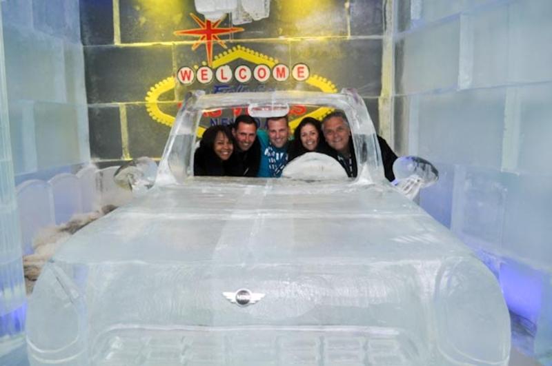 MTTS 2010 visits Minus5 at Mandalay Bay in Las Vegas<br />