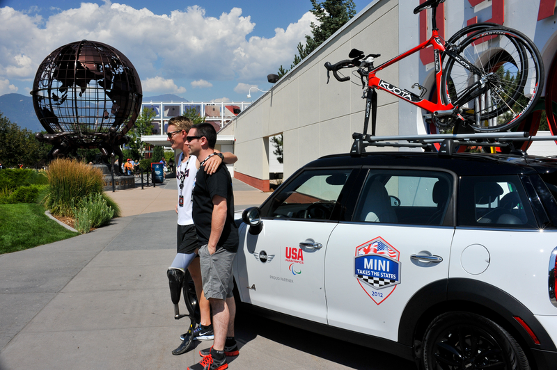 MTTS enjoys a visit to the U. S. Olympic Training Center in Colorado Springs, Colorado.<br />