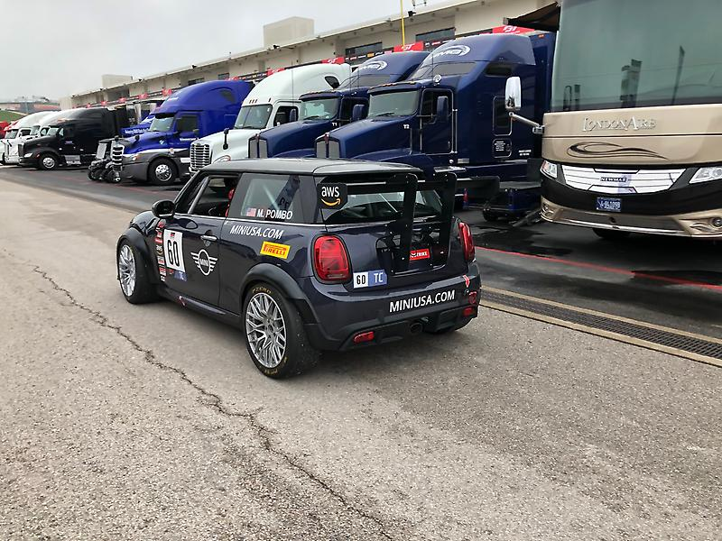 MINI John Cooper Works Team Debuts Touring Car at Circuit of the Americas<br />
