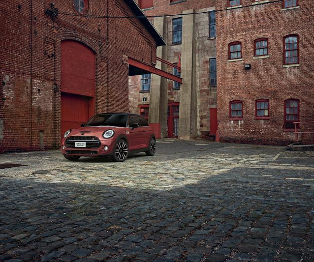 2021 MINI Coral Red Edition