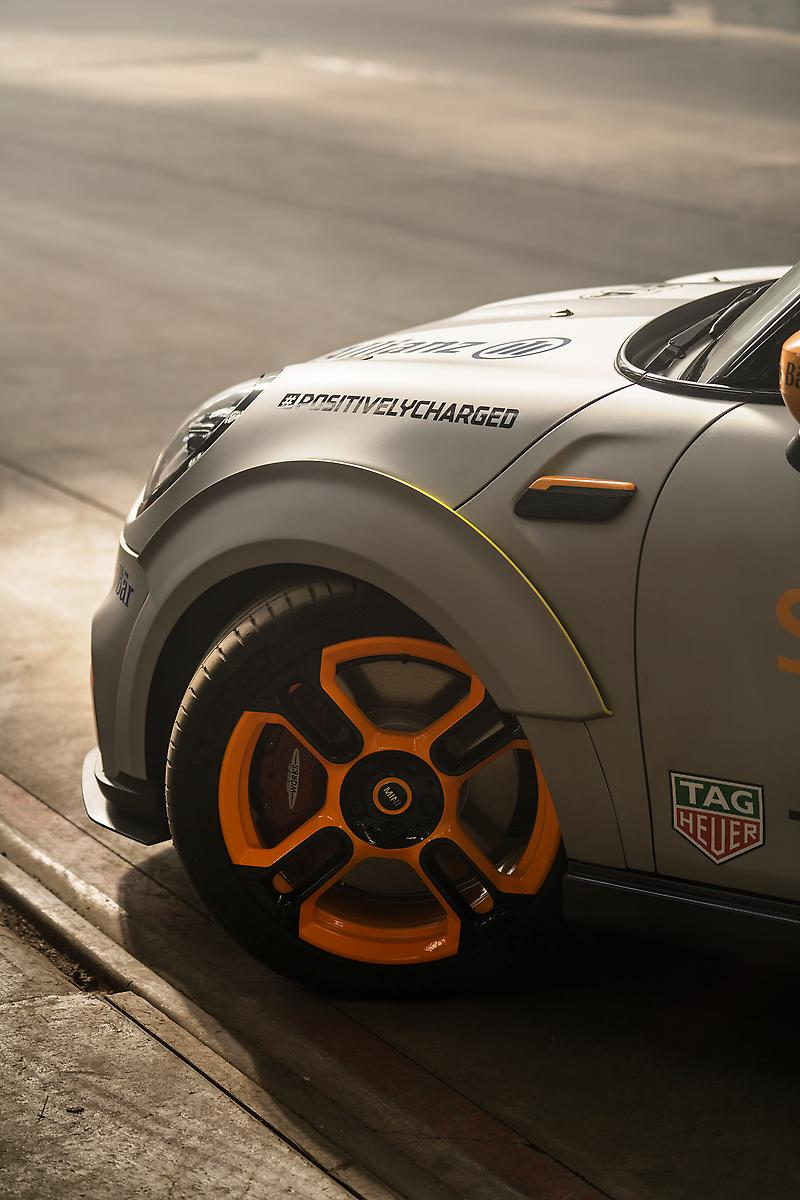 The MINI Electric Pacesetter inspired by JCW.