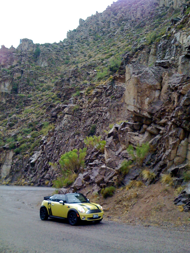 Open One Challenge Winner - David Loveall's MINI Cooper Covertible - US 60 in Arizona