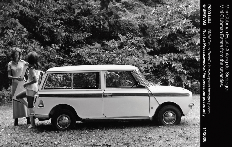 Mini Clubman Estate from the seventies (11/2006)<br />