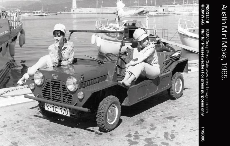 Austin Mini Moke, 1965 (11/2006)<br />