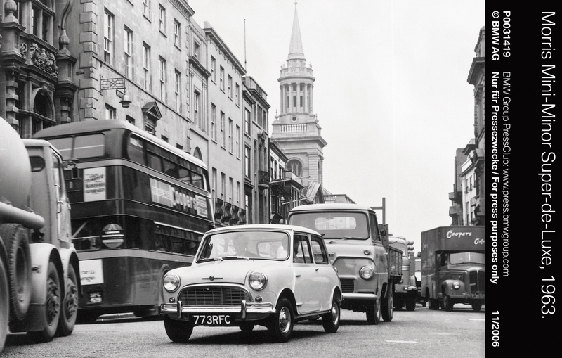 Morris Mini-Minor Super-de-Luxe, 1963 (11/2006)<br />