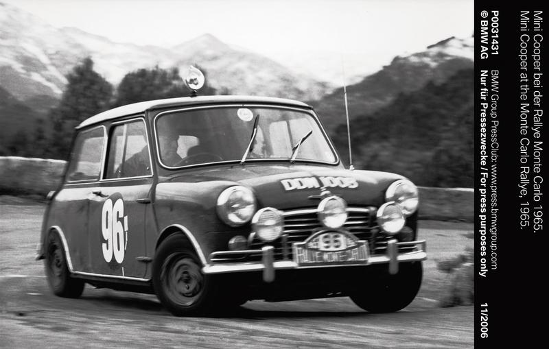 Mini Cooper at the Monte Carlo Rallye, 1965 (11/2006)<br />