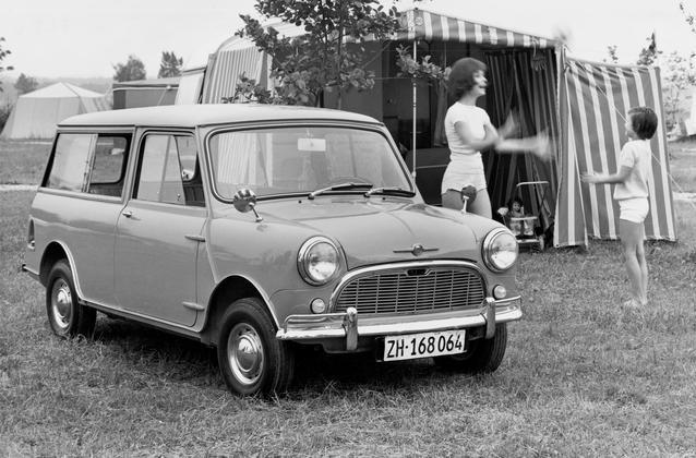Morris Mini-Traveller - Super-de-Luxe version without wood,built from 10/1962. (03/2009)