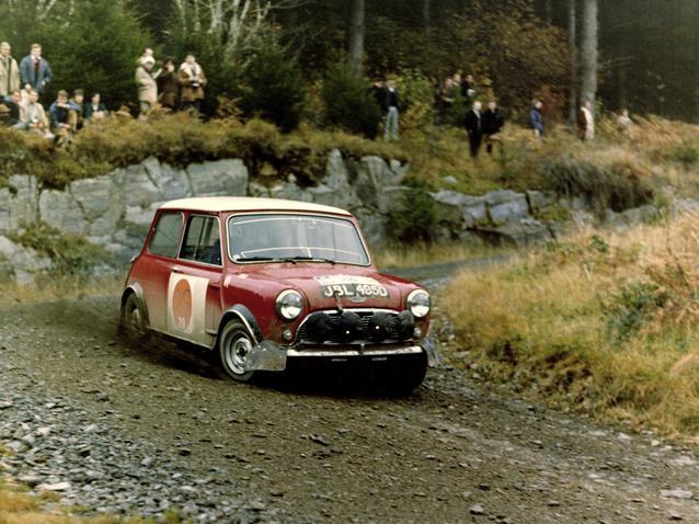 Mini Cooper S at the R.A.C. Rally 1966 (03/2009)