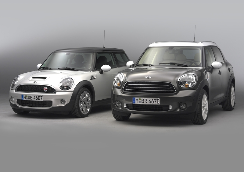 MINI Cooper S Hardtop and the MINI Cooper D Countryman<br />