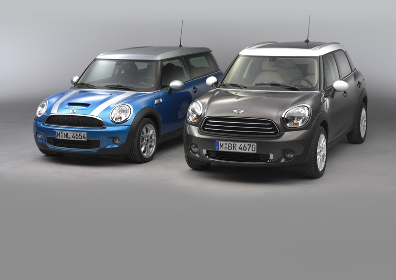 MINI Cooper S Clubman and the MINI Cooper D Countryman<br />