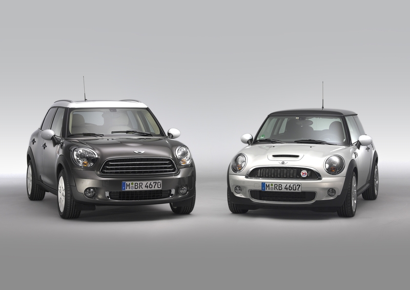 MINI Cooper D Countryman and the MINI Cooper S Hardtop<br />