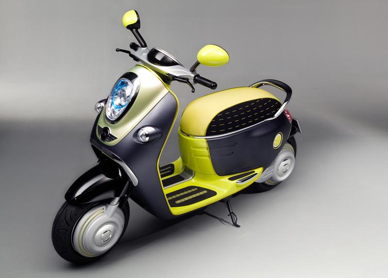 MINI Scooter E Concept<br />