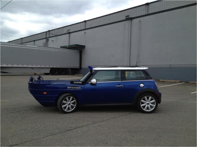 New Amphibious MINI Cooper Yachtsman to Launch in New York…Beside the Hudson River