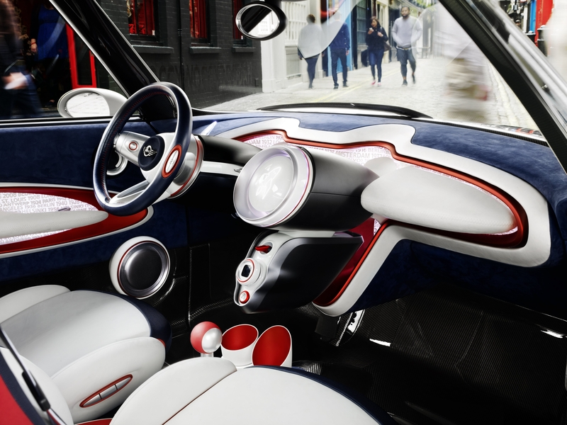 MINI Rocketman Concept Interior<br />