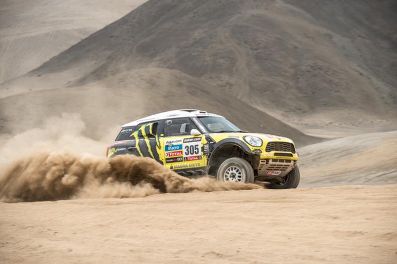 MINI Countryman at the Rally Dakar 2013