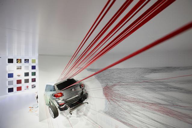 MINI KAPOOOW! installation. Salone del Mobile 2013 (04/2013)