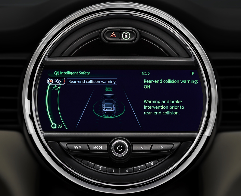 PREMIUM DRIVER ASSISTANCE SYSTEMS COMING TO NEW MINI HARDTOP