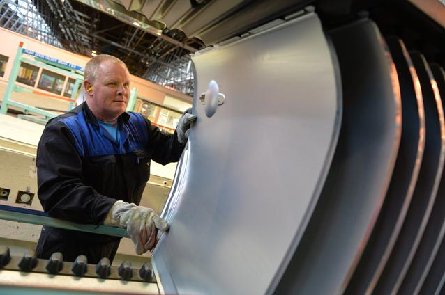 Produced at Plant Swindon, the rear doors are packed individually to ensure the highest quality is maintained.