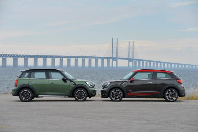 The new MINI Countryman and the new MINI John Cooper Works Paceman. (07/2014)