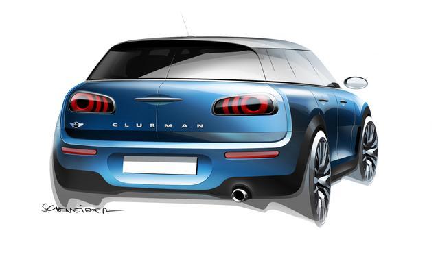 2016 New MINI Clubman Design
