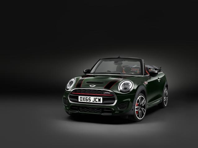 The new MINI John Cooper Works Convertible