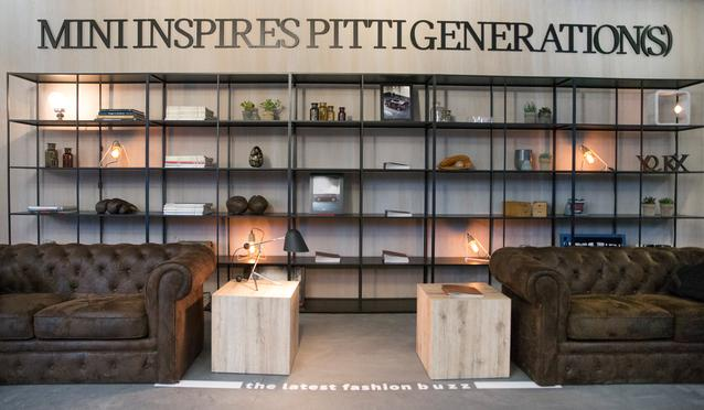 MINI at the Pitti Uomo 89 in Florence. (01/2016)