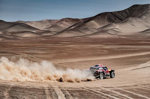 2019 Dakar, Stage 5, Stephane Peterhansel (FRA), David Castera (FRA) - MINI John Cooper Works Buggy #304 - X-raid MINI John Cooper Works Team #304 - 11.01.2019