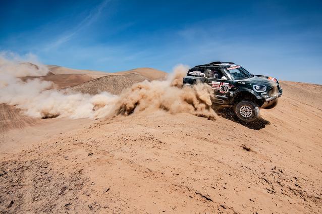 2019 Dakar, Stage 5, Nani Roma (ESP), Alex Haro ESP) - MINI John Cooper Works Rally - X-raid MINI John Cooper Works Rally Team, #307 - 11-01-2019