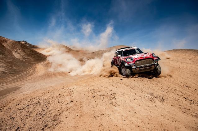 2019 Dakar Rally, Stage 5, Boris Garafulic (CHL), Filipe Palmeiro (POR) - MINI John Cooper Works Rally - X-raid MINI John Cooper Works Rally Team, #321- 11.01.2019