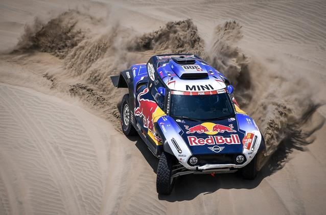 2019 Dakar, Stage 6, Carlos Sainz (ESP), Lucas Cruz (ESP) - MINI John Cooper Works Buggy - X-raid MINI John Cooper Works Team, #300 - 13.01.2019