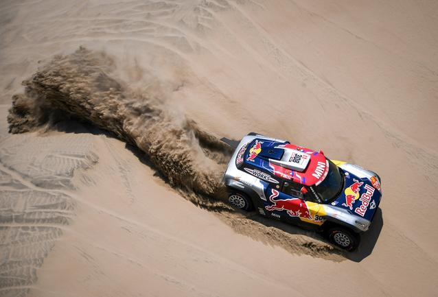 2019 Dakar, Stage 6, Cyril Despres (FRA), Jean Paul Cottret (FRA) - MINI John Cooper Works Buggy - X-raid MINI John Cooper Works Team, #308 - 13.01.2019