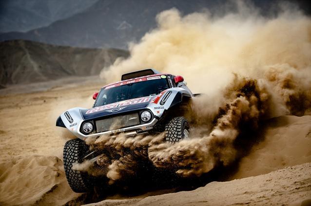 2019 Dakar, shakedown, Cyril Despres (FRA), Jean Paul Cottret (FRA) - MINI John Cooper Works Buggy - X-raid MINI John Cooper Works Team, #308 - 04.01.2019