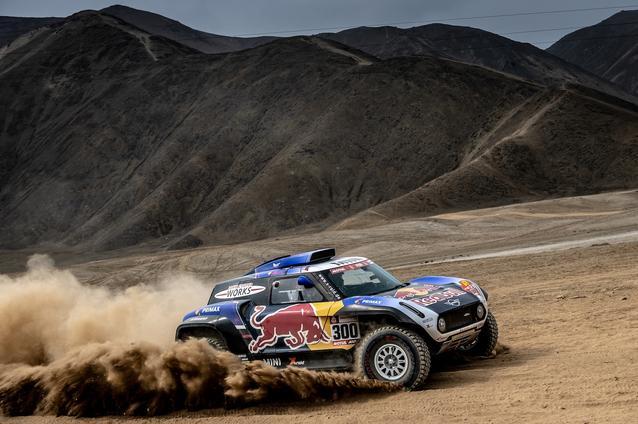 2019 Dakar, shakedown, Carlos Sainz (ESP), Lucas Cruz (ESP) - MINI John Cooper Works Buggy - X-raid MINI John Cooper Works Team, #300 - 04.01.2019