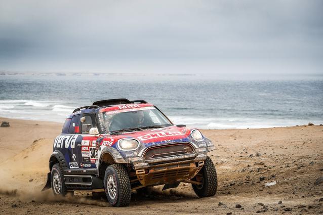 2019 Dakar, Stage 8, Yazeed Al Rajhi (KSA), Timo Gottschalk (DEU) - MINI John Cooper Works Rally - X-raid MINI John Cooper Works Rally Team, #314 - 15.01.2019