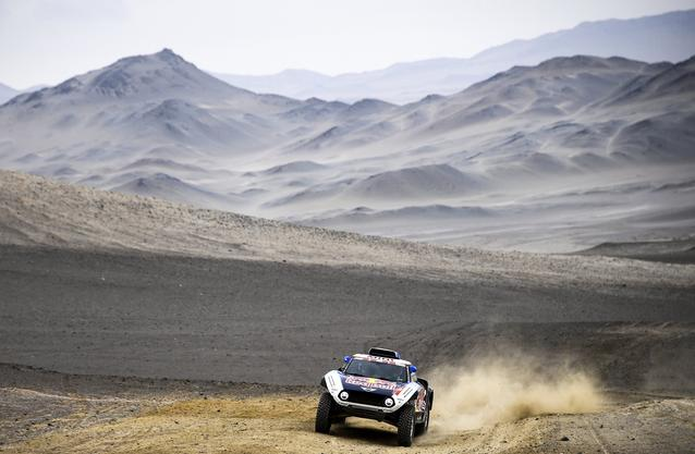 2019 Dakar, Stage 8, Carlos Sainz (ESP), Lucas Cruz (ESP) - MINI John Cooper Works Buggy - X-raid MINI John Cooper Works Team, #300 - 15.01.2019