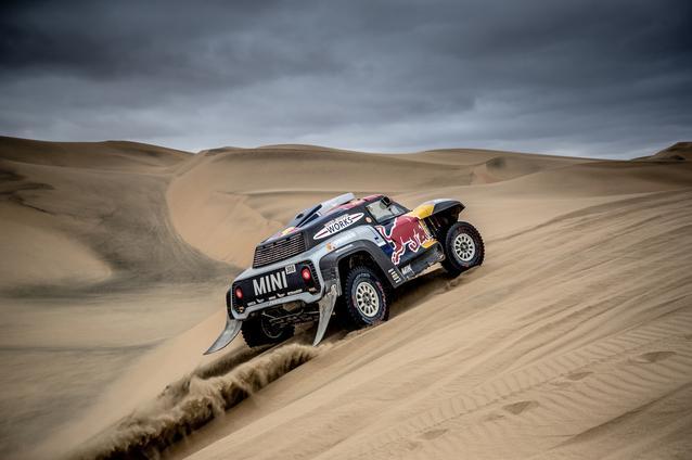 2019 Dakar, Stage 8, Cyril Despres (FRA), Jean Paul Cottret (FRA) - MINI John Cooper Works Buggy - X-raid MINI John Cooper Works Team, #308 - 15.01.2019