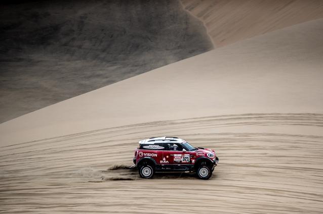 2019 Dakar Rally, Stage 8, Boris Garafulic (CHL), Filipe Palmeiro (POR) - MINI John Cooper Works Rally - X-raid MINI John Cooper Works Rally Team, #321- 15.01.2019