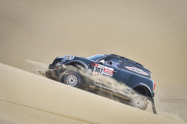 2019 Dakar, Stage 9, Nani Roma (ESP), Alex Haro ESP) - MINI John Cooper Works Rally - X-raid MINI John Cooper Works Rally Team, #307 - 16-01-2019