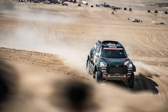 2019 Dakar, Stage 10, Nani Roma (ESP), Alex Haro ESP) - MINI John Cooper Works Rally - X-raid MINI John Cooper Works Rally Team, #307 - 17-01-2019
