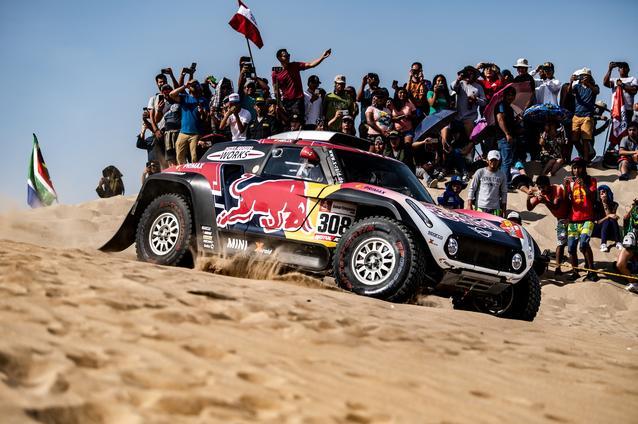 2019 Dakar, Stage 10, Cyril Despres (FRA), Jean Paul Cottret (FRA) - MINI John Cooper Works Buggy - X-raid MINI John Cooper Works Team, #308 - 17.01.2019