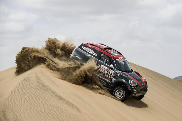 2019 Dakar, Stage 9, Yazeed Al Rajhi (KSA), Timo Gottschalk (DEU) - MINI John Cooper Works Rally - X-raid MINI John Cooper Works Rally Team, #314 - 16.01.2019